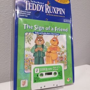 Vintage Teddy Ruxpin Book And Cassette Tape NEW
